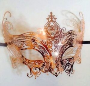 Rose Gold Mask