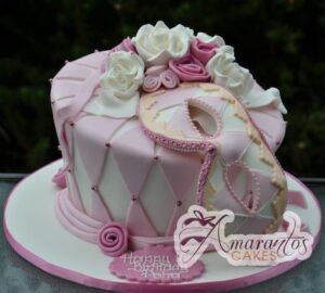 Masquerade Cake - Classic Fantasy