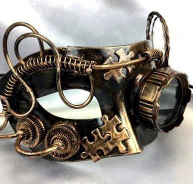 Steampunk Masquerade Mask Goggle
