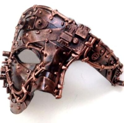 Steampunk Phantom Mask Copper