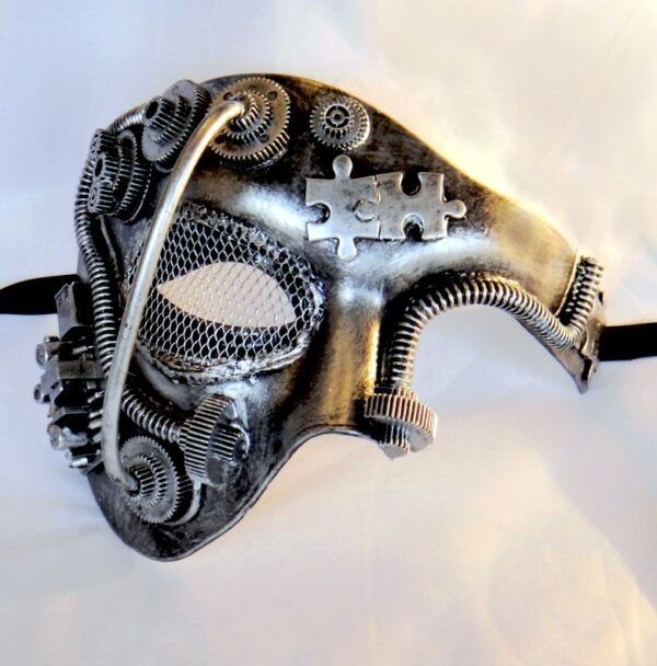 Steampunk Phantom Silver