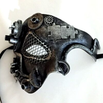 Steampunk Silver Phantom