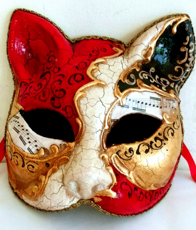 venetian cat mask made in venice mask shop australia