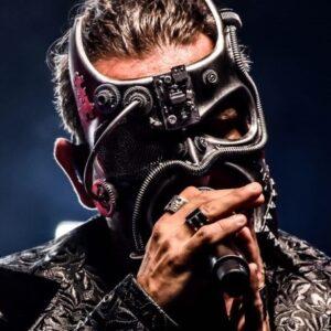 Gladiator Mask - Photo Courtesy of Chique Entertainment