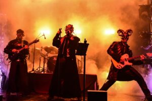 Rock Band Masks - Pic from Chique Entertainment