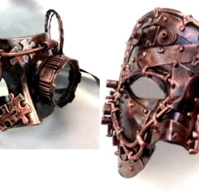 Steam Couples Masks Copper