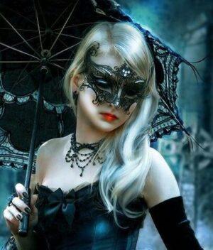 Black Winged Mask