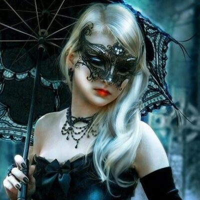 Black Winged Mask