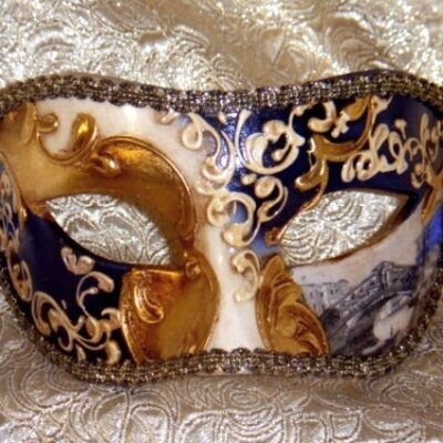 Navy Blue Mask