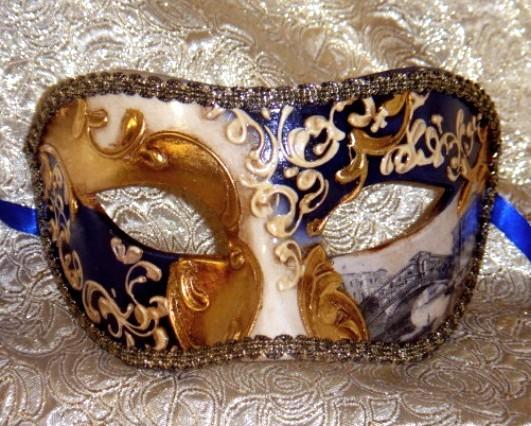 Navy Blue Mask