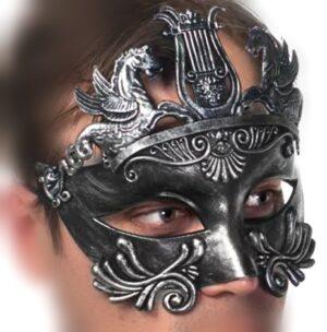 Centurian Fancy Dress Mask, Toga Masquerade Mask