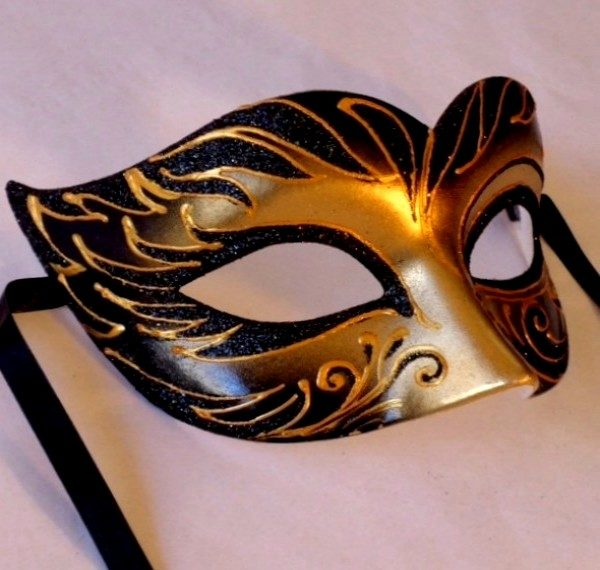 Safari Tiger Masquerade Mask
