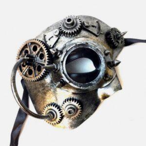 Cyborg Mask Steampunk Futuristic