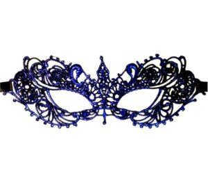 Blue Lace Mask