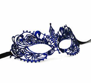 Blue Lace Masquerade