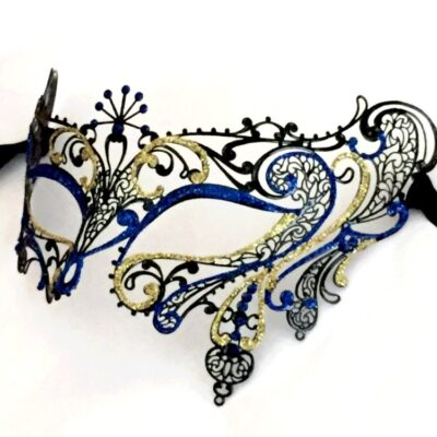 Exotic Blue Mask for Masquerade