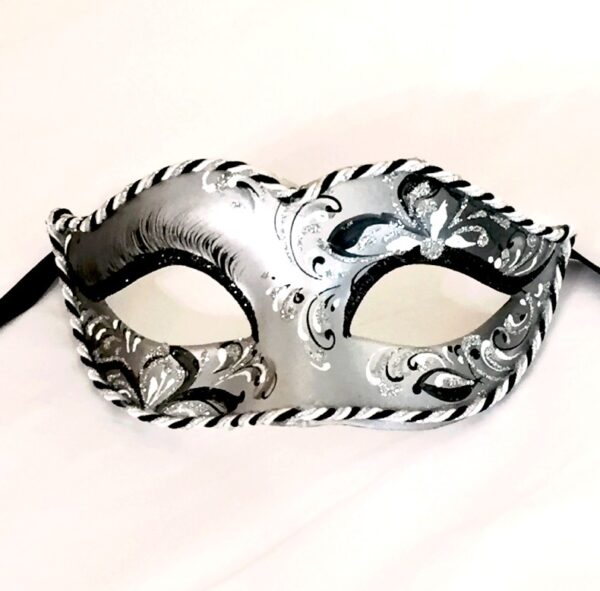Silver Ladies Mask