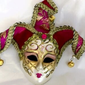 Louise Fucshia Pink Mask