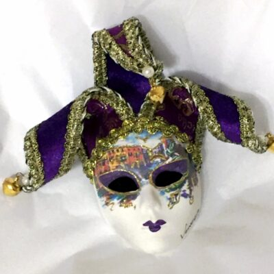 Venezia Purple Mask