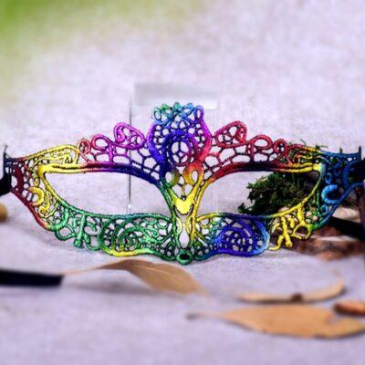 Rainbow Color Mask Amelia