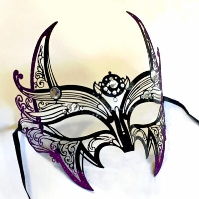 Vampire Mask, She Devil Mask, Cosplay Gothic Masquerade