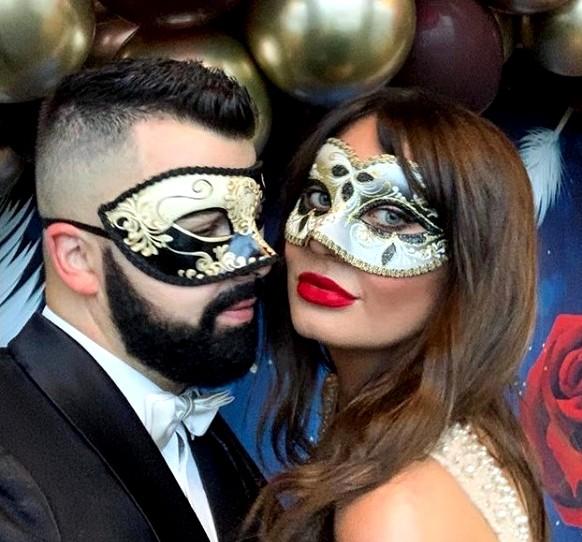 Amore Masquerade Masks Italian