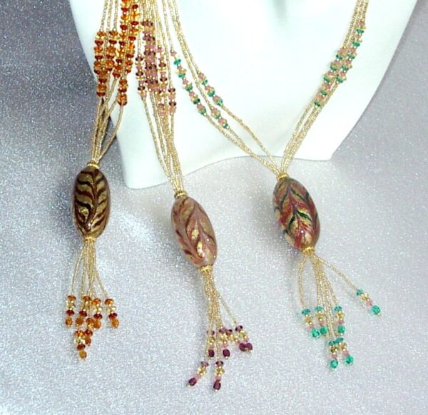 Seduction Tassel Necklace set