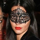 Ladies Black Masquerade Mask