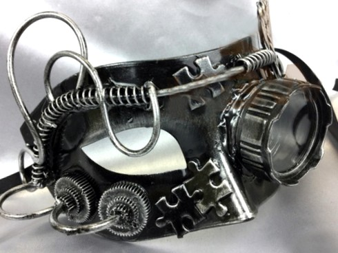 Steampunk Mask with Goggle