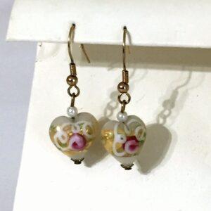 Rose Bud Earrings