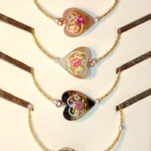 Romantic Bracelet Chantilly Murano Glass