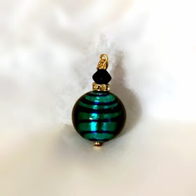 Blue Murano Glass Pendant