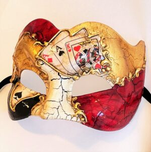 Casino Zane Large Masquerade Mask