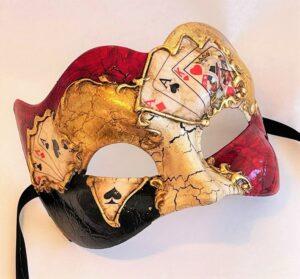 Casino Large Masquerade Mask